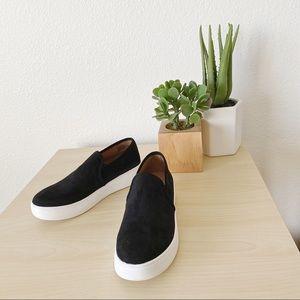 STEVE MADDEN Gracy black slip on sneakers